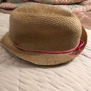 Super Cute Lilly Pulitzer for Target gold hat.
